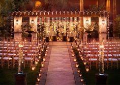 Decoração da Cerimônia Religiosa ao Ar Livre | Noivinhas de Luxo