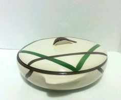 Vernonware Bel-Air Covered Bowl  Hand Painted Vintage 1948  #Vernonware SOLD