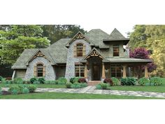 Craftsman House Plan with 2487 Square Feet and 3 Bedrooms from Dream Home Source | House Plan Code DHSW076583