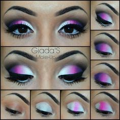 Makeup Forever Lip Blush Makeup Looks To Go With A Red Dress - full_make_up_pintennium Dramatic Eye Makeup, Eye Makeup Steps, Makeup Eye Looks, Beautiful Eye Makeup, Colorful Eye Makeup, Eyebrow Makeup, Pretty Makeup, Skin Makeup, Eyeshadow Makeup