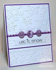 Let it Snow by Stamper K - Cards and Paper Crafts at Splitcoaststampers