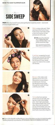 What Mimi Writes: How To: Easy Summer Hair