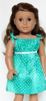 Free American Girl Doll Clothing Patterns. Great designer.