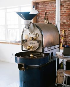 Kaper Design; Restaurant & Hospitality Design: Tandem Coffee Roasters