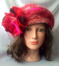 Reserved  Nunofelt hat designer hat ladies felt by Tatiana123, $80.00