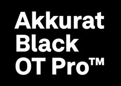 Preview of the new Akkurat Black (scheduled for early 2013)