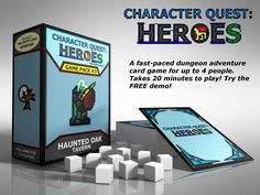 Character Quest: Heroes (Haunted Oak) by Calvin Nelson — Kickstarter