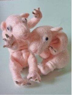 Why yes those are pigs, and they are horrifying!