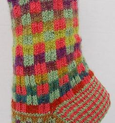 Mini Mochi - Maizy Melange Socks pattern - Crystal Palace Yarns - free knit sock pattern