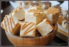 Peanut Butter Fudge... Ooh... I've got to try this. The recipe looks like a peanut butter version of my old favorite... Fantasy Fudge: made with Marshmallow Cream. LOVE it!