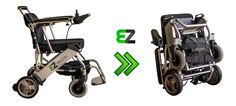 foldable electric wheelchair!!