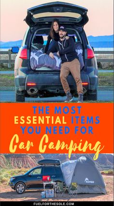 The Best Car Camping Gear You NEED When Overlanding We reveal the MOST essential items you need for car camping after our long camper van road trip. Whether you travel in the summer or winter, with a car, camper truck or SUV, these overlanding idea Auto Camping, Truck Camping, Camping And Hiking, Camping With Kids, Camping Life, Camping Hacks, Camping Ideas, Camping Checklist, Cool Camping Gear