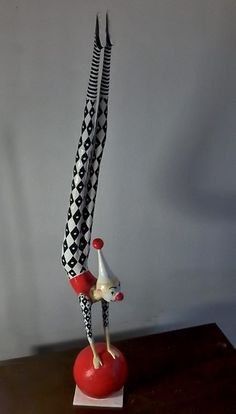 Papel-pra-toda-Obra--paper-mache-clown