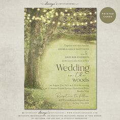 Enchanted-Forest-Rustic-Trees-Woodland-Wedding-Invitation-Storybook-Garden-Wedding-Invitation-by-Soumya's-Invitations
