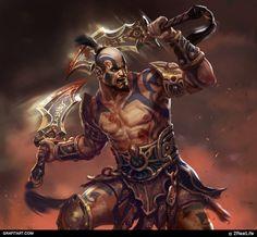 ArtStation - For company, Grafit Studio Fantasy Male, Fantasy Dragon, Fantasy Warrior, Fantasy Rpg, Dark Fantasy Art, Medieval Fantasy, Mythological Characters, Fantasy Characters, Animated Man