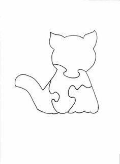 Wood Jigsaw Puzzle - Cat Puzzle
