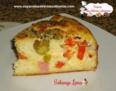 Torta Bauru de liquidificador - Espaço das delícias culinárias