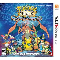 Pokemon Super Mystery Dungeon (Nintendo 3DS) - I can't wait for this to come out!