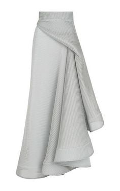 Rogue Full Skirt by Maticevski for Preorder on Moda Operandi. Another stunning creation. I swear I want everything this guy designs.This **Maticevski** skirt features a high rise with a fitted waistband, a tonal wraparound design that falls into casc Look Fashion, Womens Fashion, Fashion Design, Club Fashion, 1950s Fashion, Trendy Fashion, Modest Fashion, Fashion Dresses, Dress Skirt