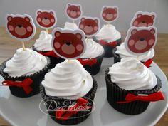 Cupcakes Ursinhos - Chá de Bebê