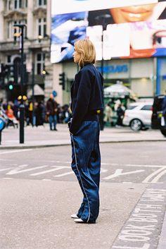 Vanessa Jackman: London Fashion Week AW 2015....Pernille