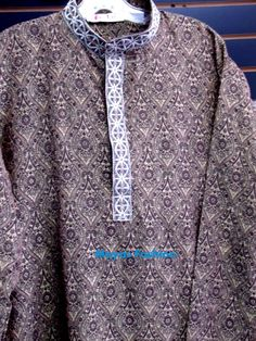 Dark Brown panjama Kurta