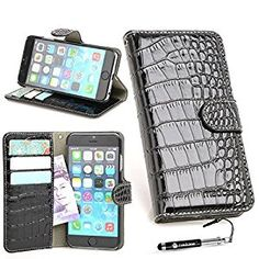 Madcase iPhone 6S / 6 Premium PU Crocodile Leather: Amazon.co.uk: Electronics