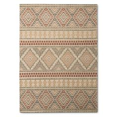 Multicolor Abstract Woven Area Rug - (7'x10') : Target