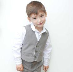 Elegant Little Boy Vest Pattern formal by coloursforbaby on Etsy