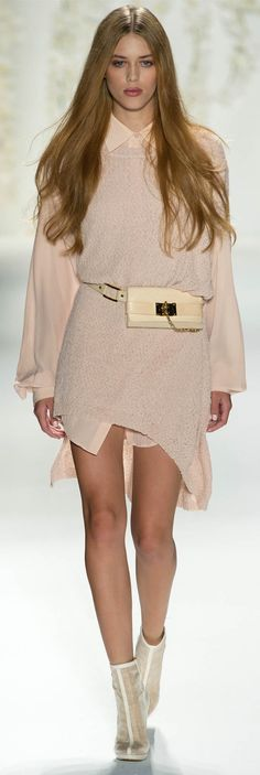 pale pink- Rachel Zoe Spring Summer 2013 Ready-To-Wear Collection