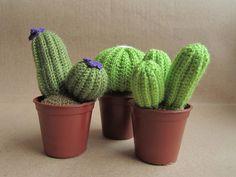 Cactus de crochet