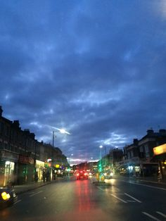 Rainy deep sky and colours...