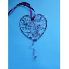 Herz aus Draht basteln | eine schöne Bastelidee zum Nachbasteln