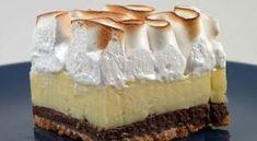 Λεμονόπιτα αφράτη με διπλή μπισκοτένια βάση Oreo-Digestive! Oranges And Lemons, Cheesecake, Pie, Desserts, Food, Whipped Cream, Pies, Torte, Tailgate Desserts