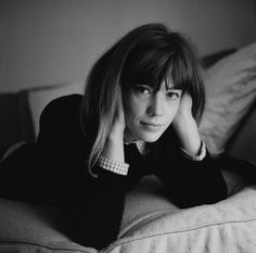 Françoise photographed in 1963 by Pierre Fournier