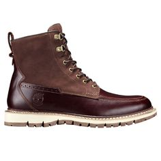 Men's Britton Hill Moc Toe Waterproof Boots