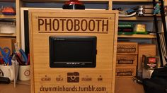 Make Your Own Photo Booth with a Raspberry Pi --- so we can make a TARDIS photo booth (and then use it again, for every party, forever)!