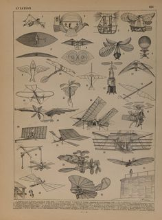 Vintage print published in Paris 1900s. Beginning of the Aviation. Numbered and described in the bottom margin. Not a copy,100 year old print. Good condition.Ready for framing.Book page. Dimension 12.1x9.4 inches or 24x31cm. Other similar prints in our shop: https://www.etsy.com/your/shops/CastafioreOldPrints/sections/13524720 Shipment In cardboard tube or rigid envelope. Shipping is only paid for the first item. Thank you for your visit