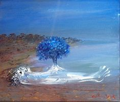 Arthur Boyd - Nebuchadnezzar's Dream of the Tree Australian Painters, Australian Artists, Landscape Art, Landscape Paintings, Arthur Boyd, Famous Art, Paintings I Love, Visionary Art, Impressionism