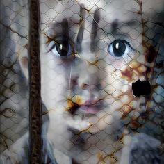 Imprisoned Version 2 #face #girl #portrait #mobileart #icolorama #ipadart #digitalart #blendedimages