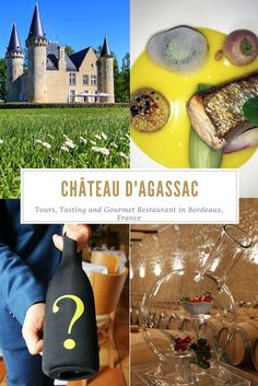 Just 15 minutes from Bordeaux,  a tour, tasting and lunch at Château d'Agassac shouldn't be missed!