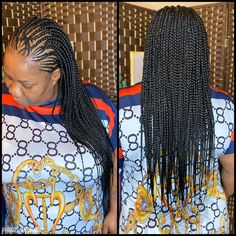 Braids by Brandis Braided Updo, Braided Hairstyles, Big Box Braids, Sensitive Scalp, Feed In Braid, Updos, Natural Hair Styles, Bob, Dreadlocks