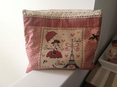 La petite parisienne Vintage Bags, Le Point, Points, Baby Room, Couture, Embroidery, Cross Stitch, Punto De Cruz, Bags