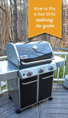 Tailgating Season is Here! Don't let a broken Grill Ignitor ruin your tailgate party! When the electric igniter no longer works, you may be tempted to throw up your hands and buy a new grill (or cook inside forever more.) WHOA! Before you go to extremes, see how easy it is to Replace a Grill Igniter! #houseexperts #ad