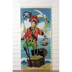 Piraten Fotowand für lustige Fotos, Piraten Party Palandi®