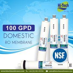 Hi-Tech Membranes 100 GPD. http://www.hitechmembranes.com/product/es-2012-100-ro-membrane/