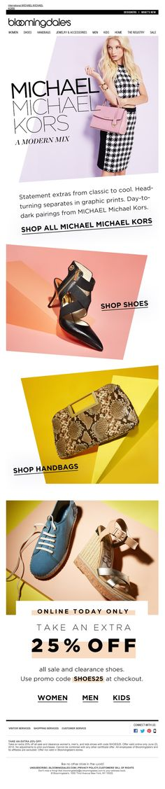 Bloomingdales | newsletter | fashion email | fashion design | email | email…