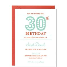 Birthday Lights Party Invitation | Paper Source