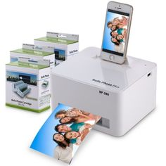 c37608917f63f Bolle - Apple Docking Photo Printer with 108 Prints Cartridge  Bolle   printer  apple
