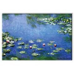 @Overstock - Artist: Claude Monet   Title: Water Lilies - White  Product type: Canvas art http://www.overstock.com/Home-Garden/Claude-Monet-Water-Lilies-White-Canvas-Art/5170151/product.html?CID=214117 $117.99